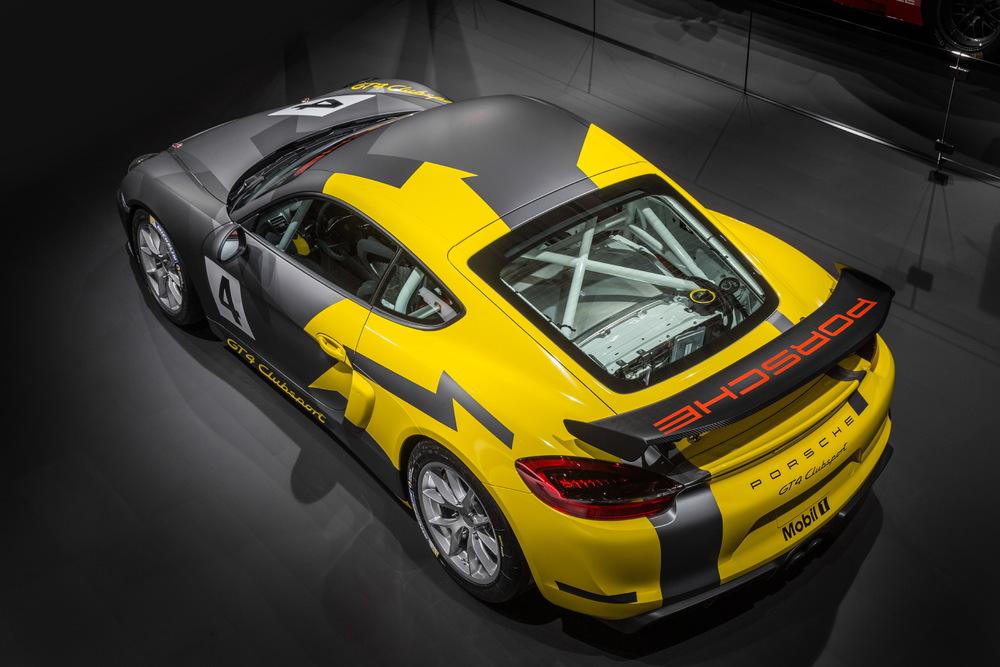 Porsche Cayman GT4 Clubsport Alto