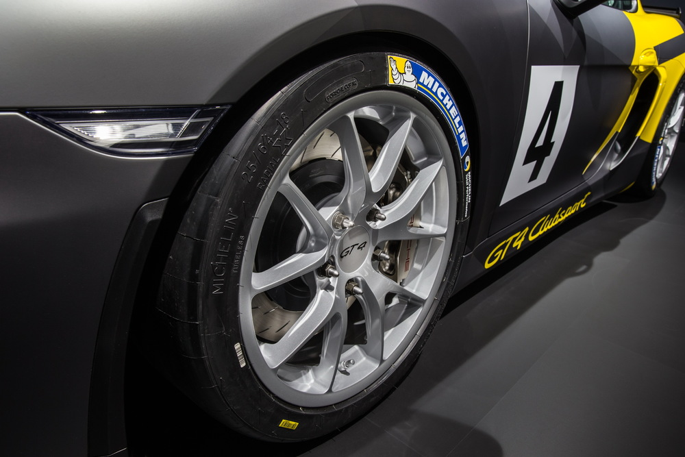 Porsche Cayman GT4 Clubsport Cerchione Posteriore