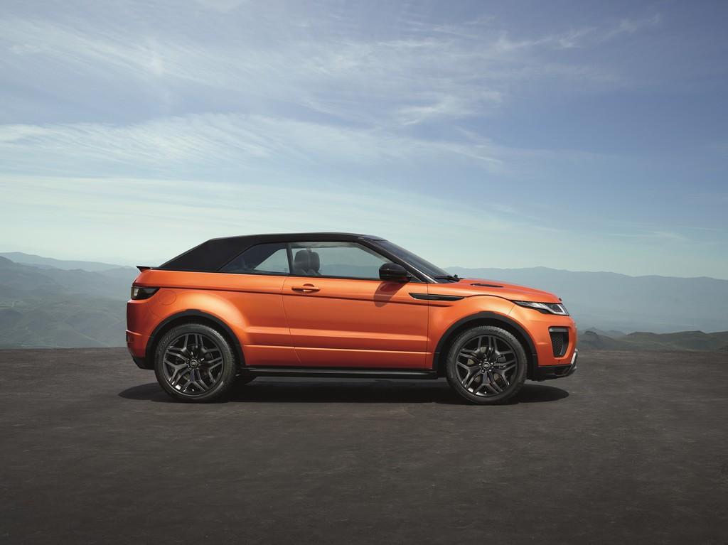 Range Rover Evoque Convertibile Lato Chiusa