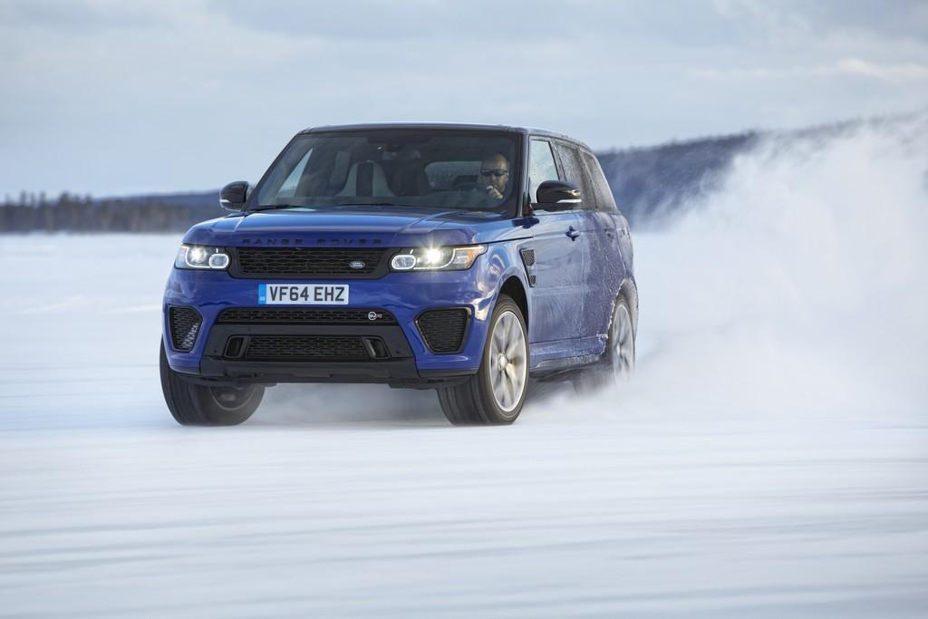 Range Rover Sport SVR Drift