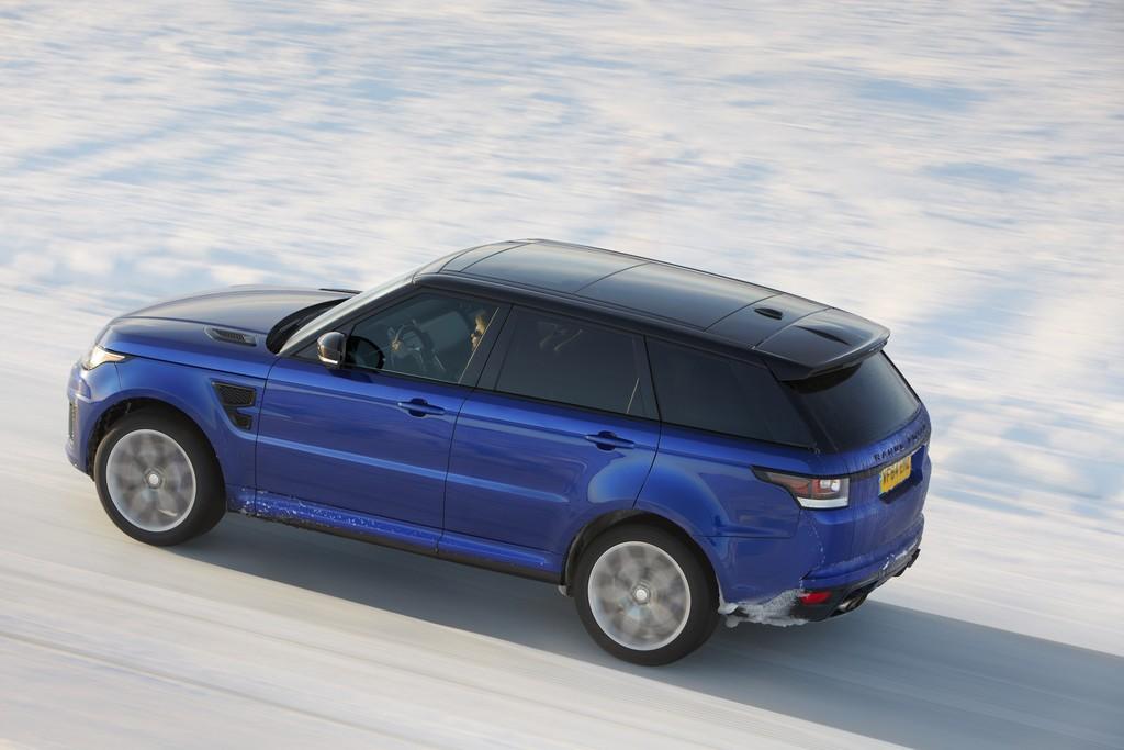 Range Rover Sport SVR Lato