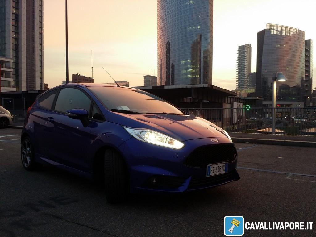 Ford Fiesta ST Tre Quarti Alba