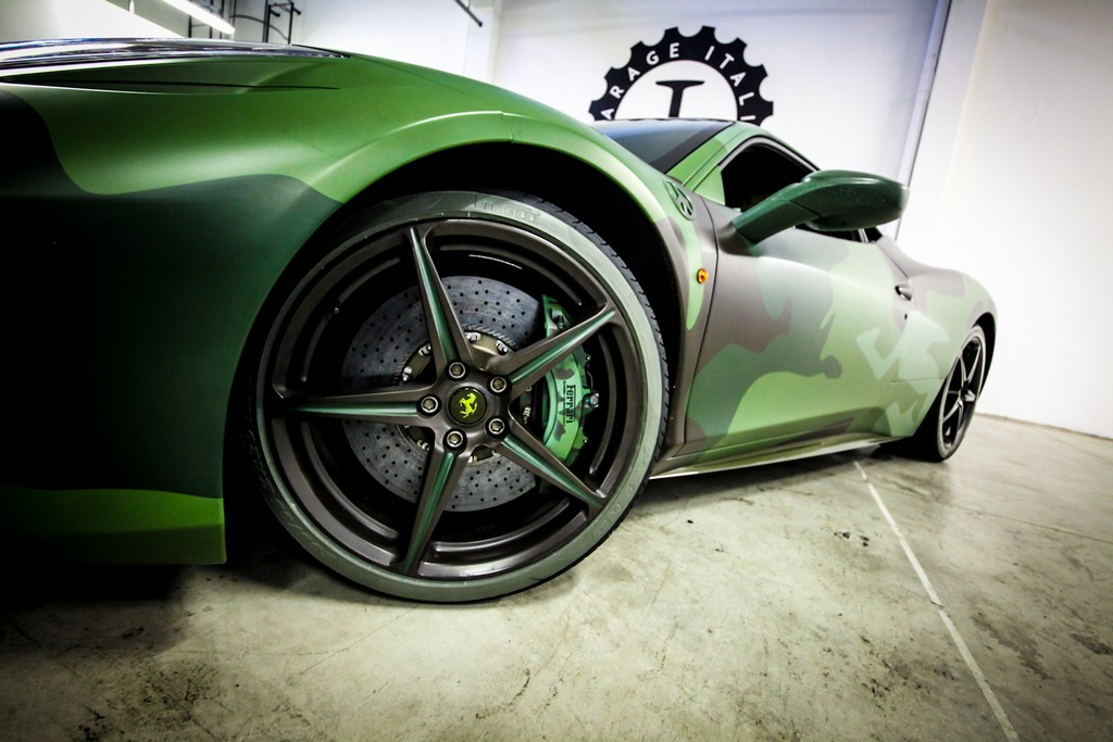 Garage Italia Customs Pirelli Ferrari Verde