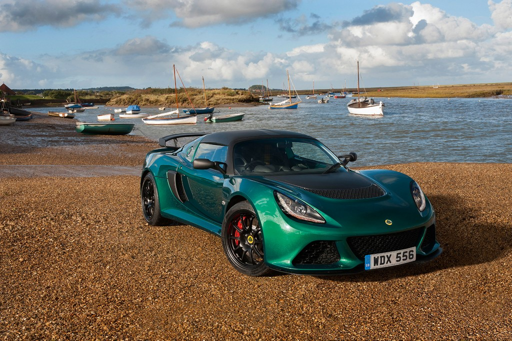 Lotus Exige 350 Tre Quarti