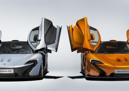 McLaren P1 375th Davanti
