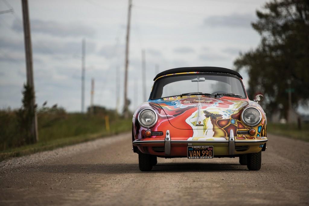 Porsche 356 C di Janis Joplin Davanti