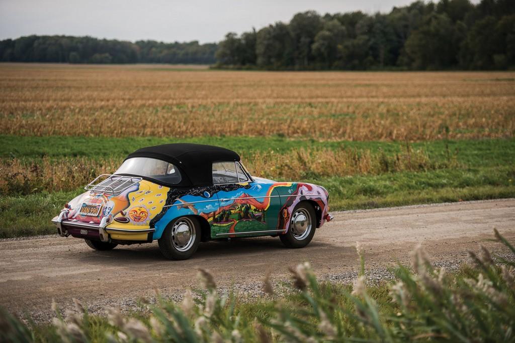 Porsche 356 C di Janis Joplin Tre Quarti Posteriore