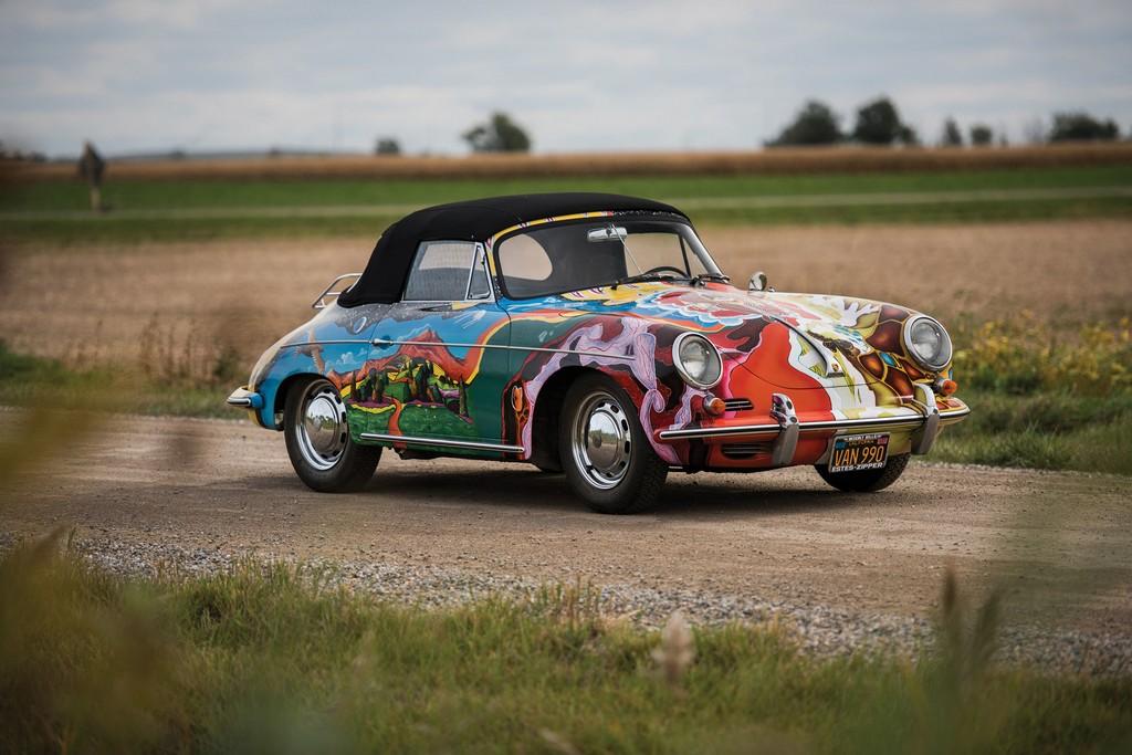 Porsche 356 C di Janis Joplin Tre Quarti
