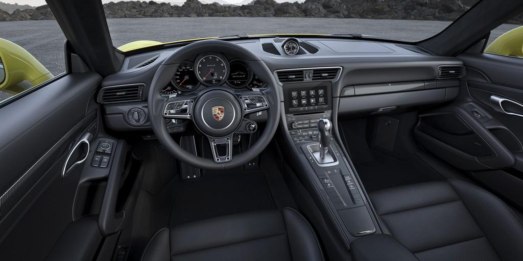 Porsche nuova 911 Turbo S Interni