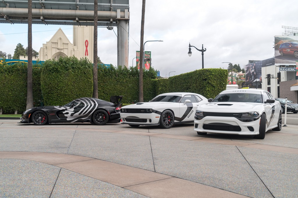 Viper e Dodge Charger Star Wars