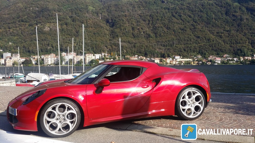 Alfa Romeo 4C Prova su Strada 25