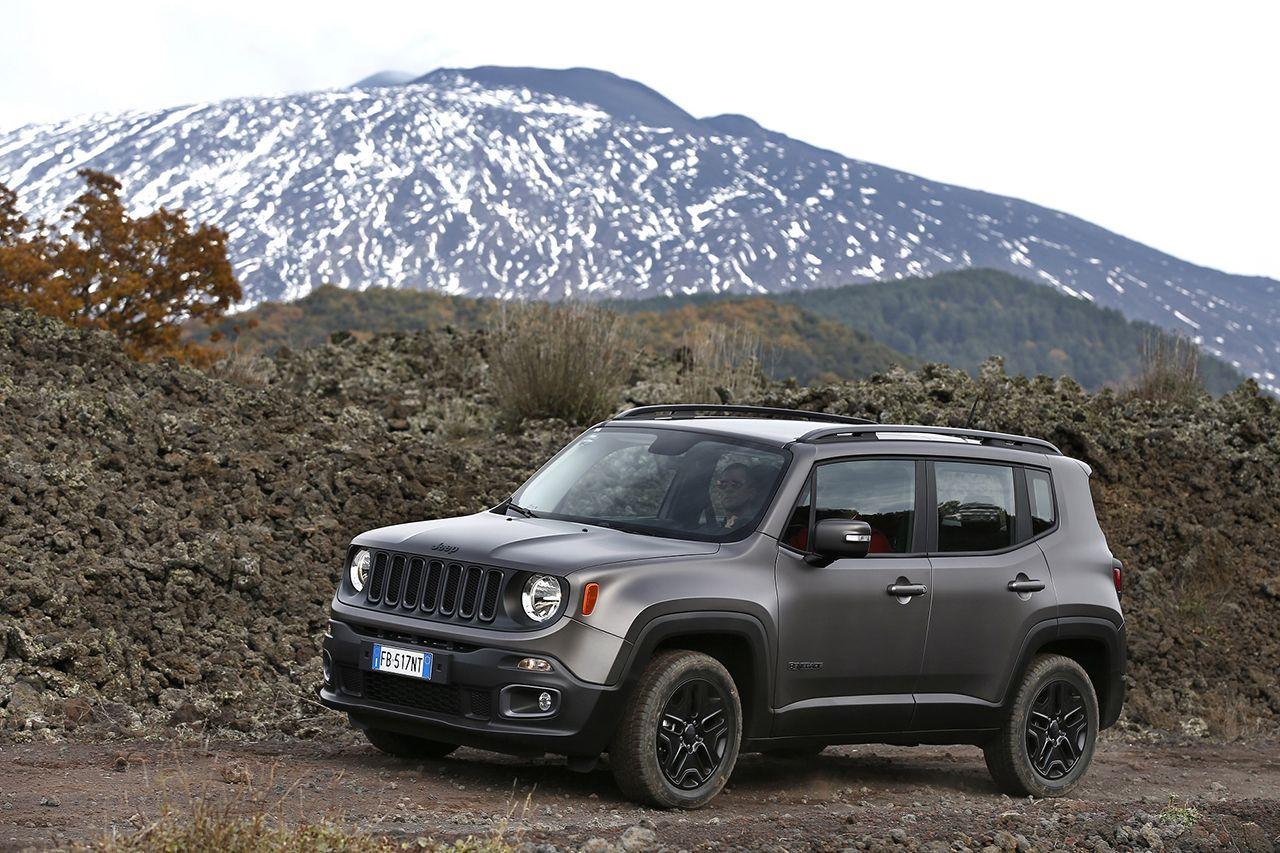 Jeep Renegade Night Eagle Lato Sinistro