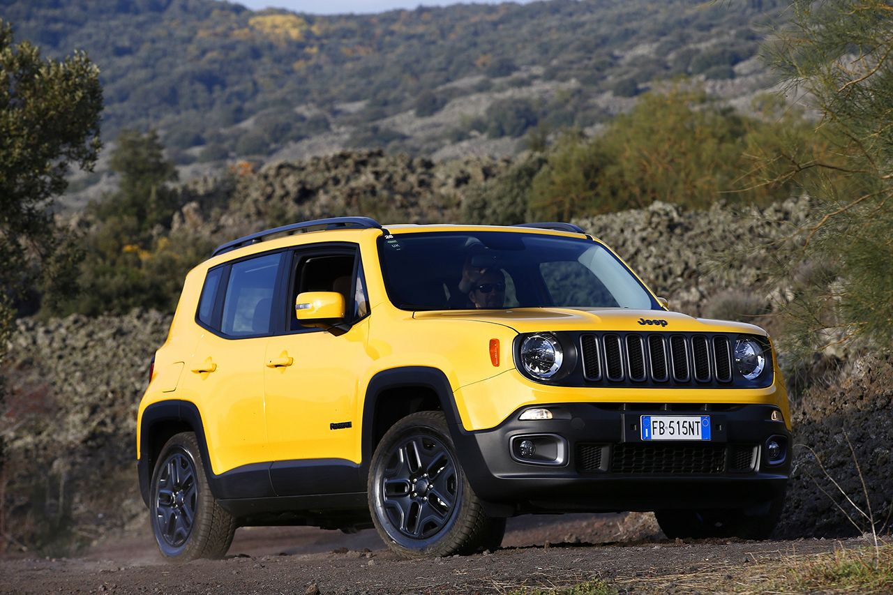 Jeep Renegade Night Eagle Solar Yellow Cavalli Vapore
