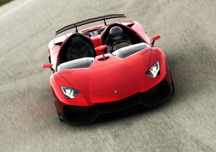 Lamborghini Aventador J Tre Quarti Anteriore