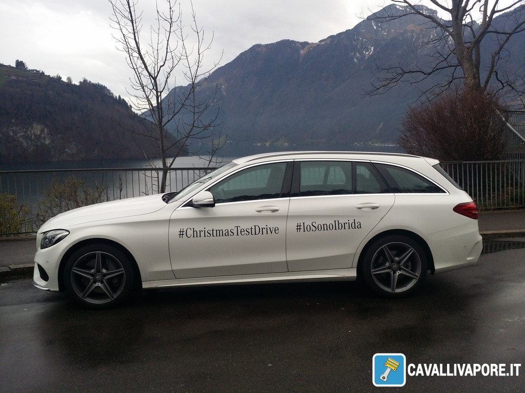 Mercedes Christmastestdrive Da Stoccarda A Milano Con Classe C