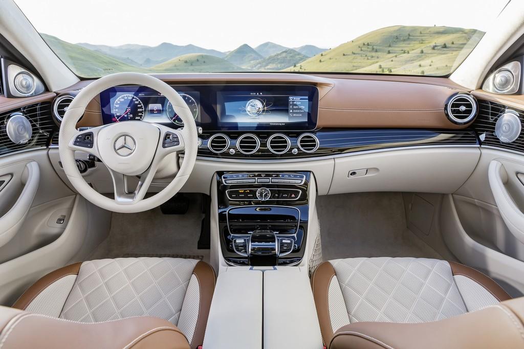 Mercedes Nuova Classe E Interni Chari