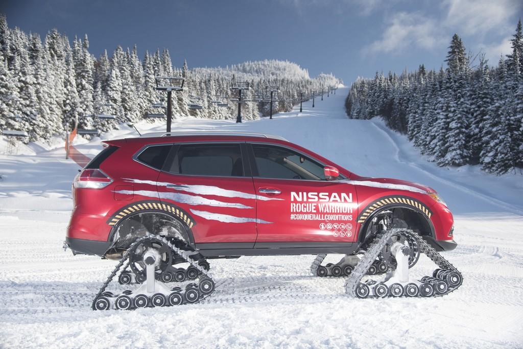 Nissan Rogue Warrior Concept Lato