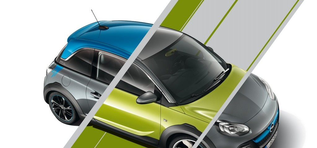 Opel Adam Rocks Unlimited