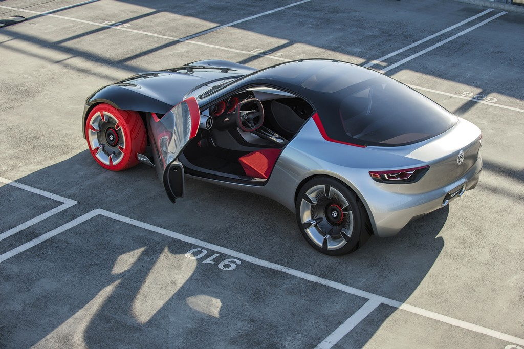 Opel GT Concept Portiera Aperta