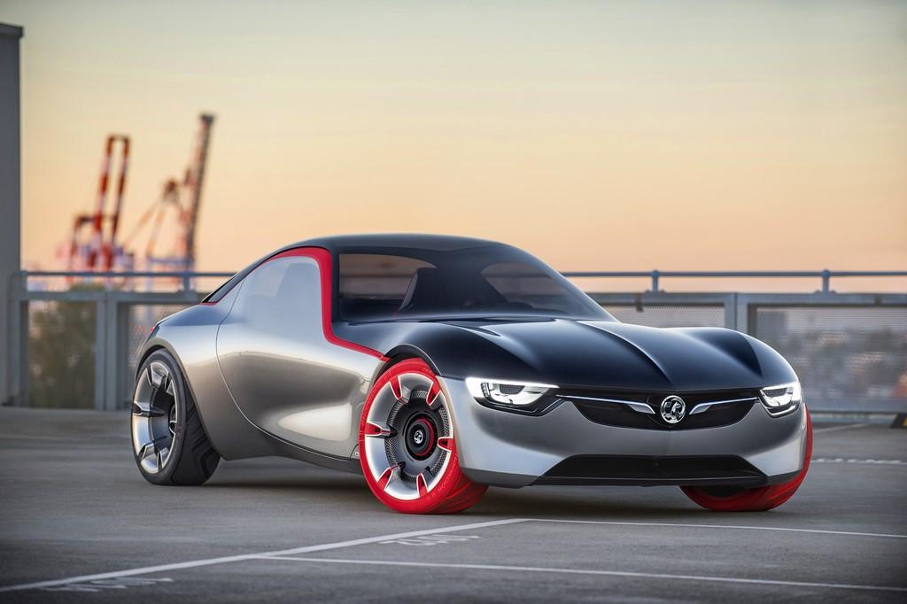 Opel GT Concept Tre Quarti Anteriore