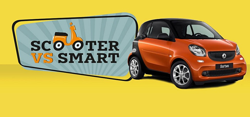 Scooter VS smart