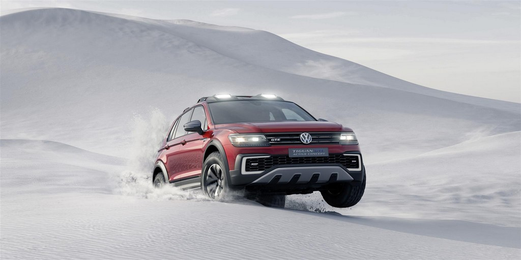 Volkswagen Tiguan GTE Active Concept Duna