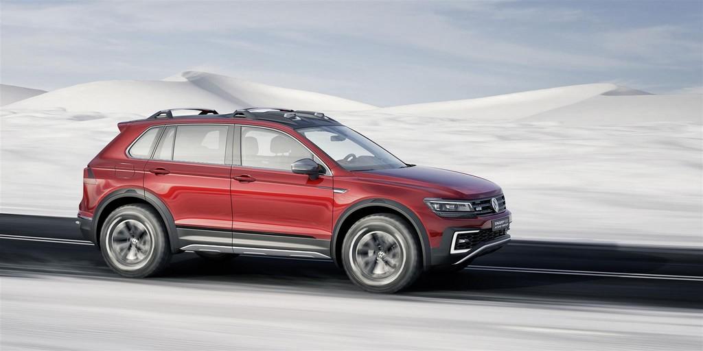 Volkswagen Tiguan GTE Active Concept Lato Destro