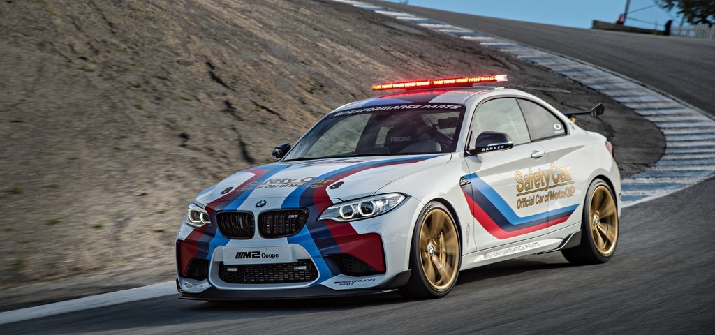 BMW M2 Safety Car Laguna Seca