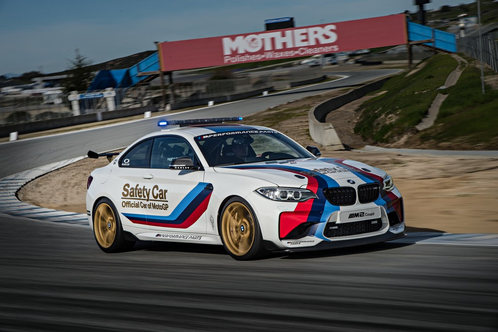 BMW M2 Safety Car Laguna Seca Tre Quarti