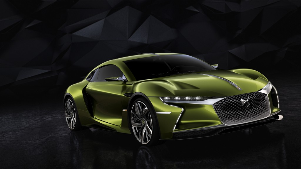 DS E-TENSE Tre Quarti