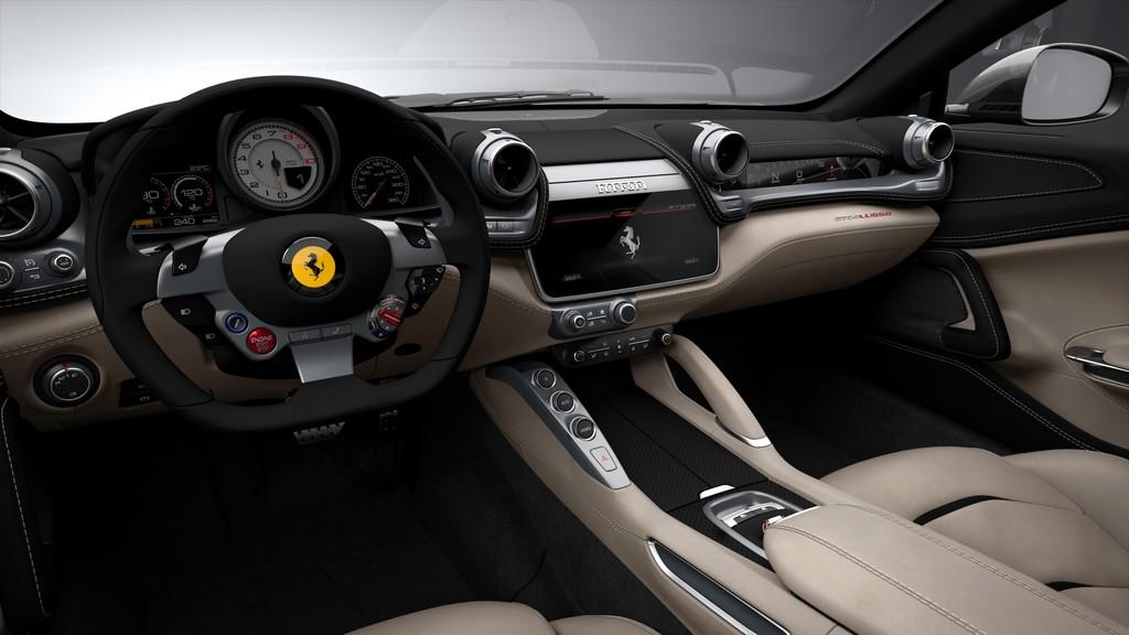 Ferrari GT4Lusso Cruscotto