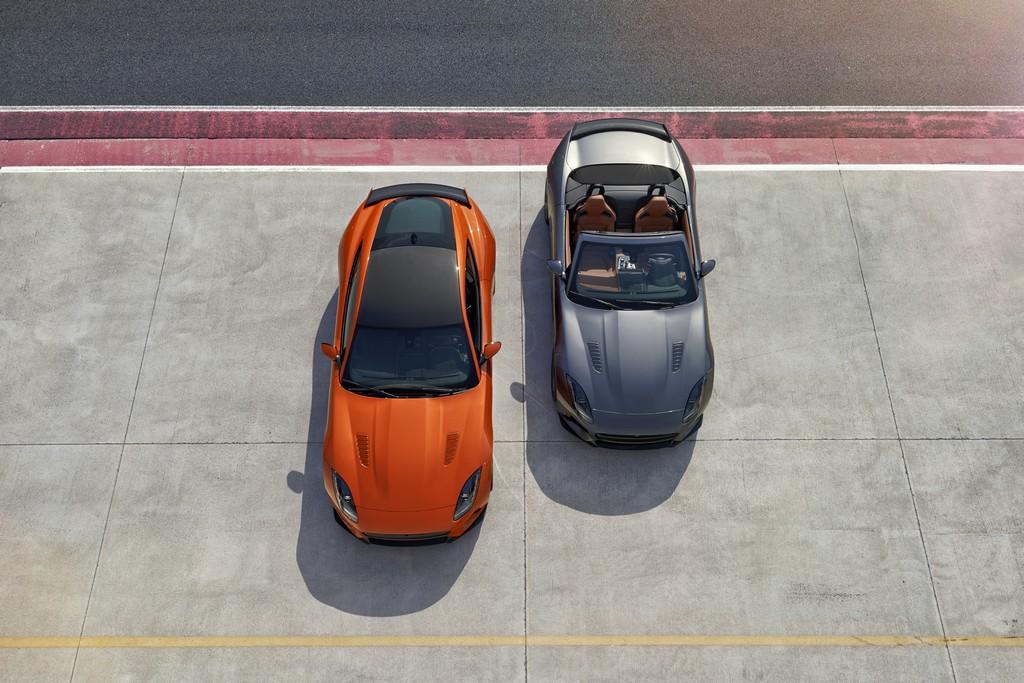 Jaguar F-Type SVR Coupe con Cabrio Pista Alto