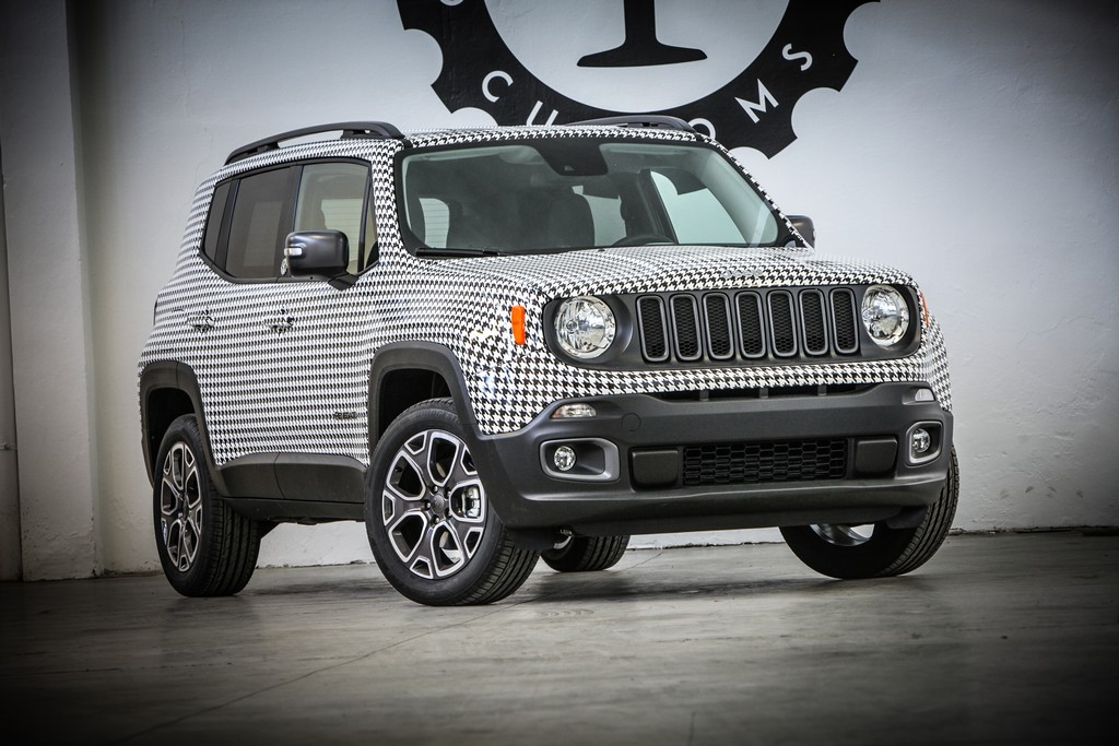 Jeep Renegade Womanity Foundation Garage Italia Customs