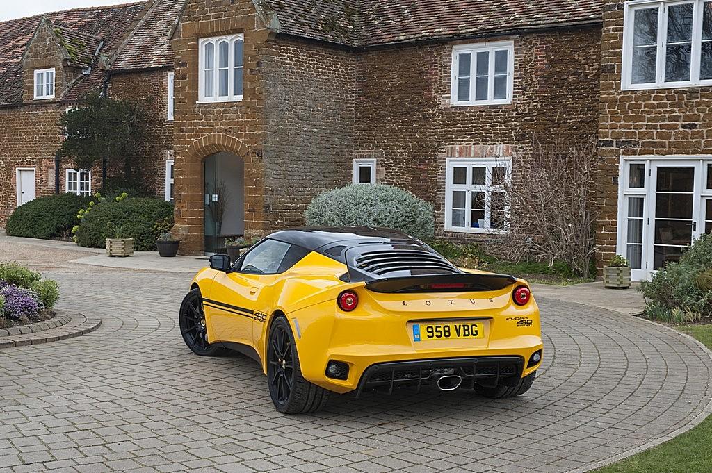 Lotus Evora Sport 410 Tre Quarti Posteriore