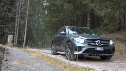 Mercedes GLC 250d 4MATIC Tre Quarti Bosco Basso