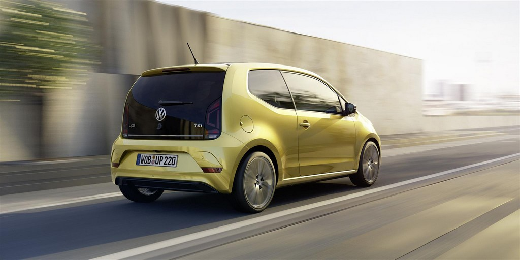 Volkswagen UP! Nuova Dinamica Dietro