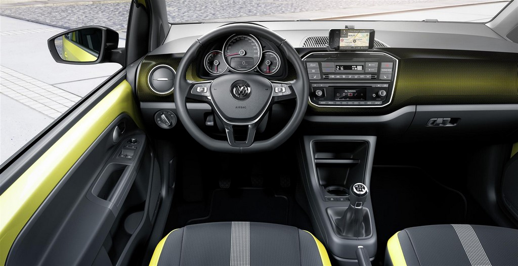 Volkswagen UP! Nuova Interni