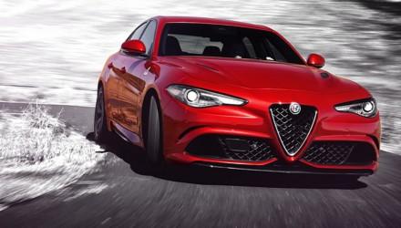 Alfa Romeo Giulia Quadrifoglio Bianco e Nero