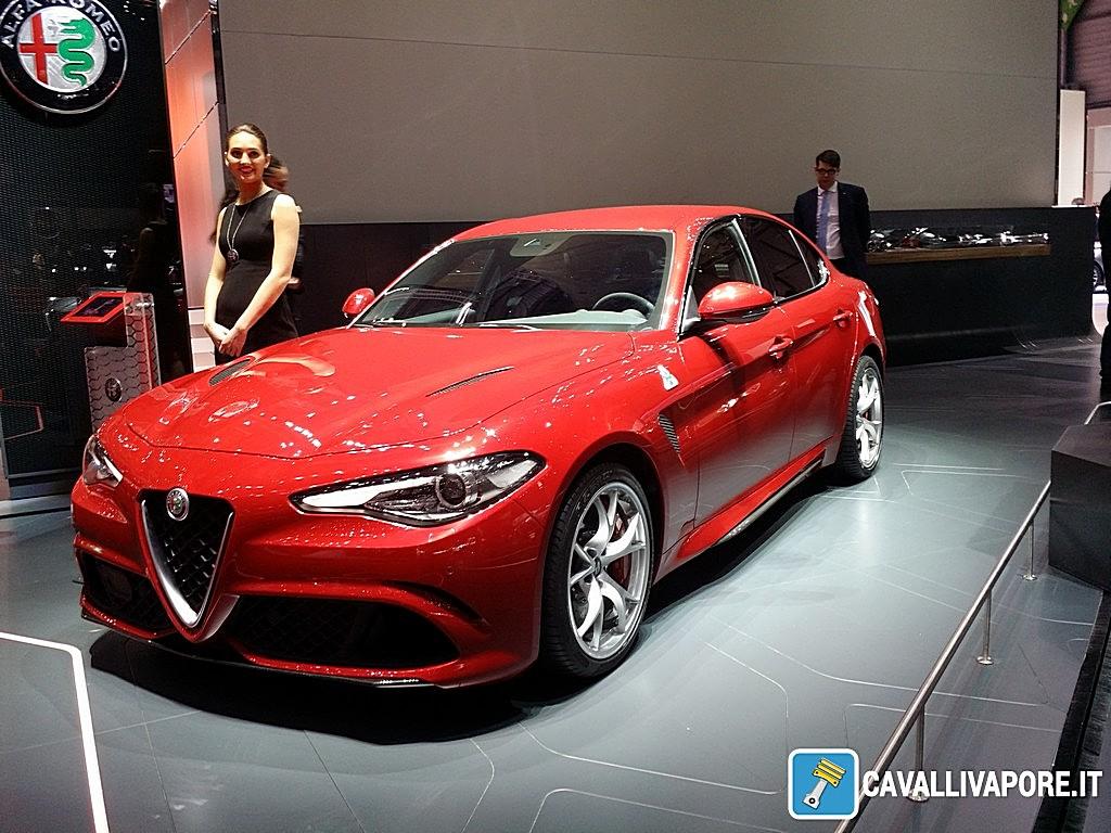 Alfa Romeo Giulia Quadrifoglio LIVE GIMS 2016
