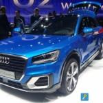 Audi Q2 LIVE GIMS 2016 Tre Quarti