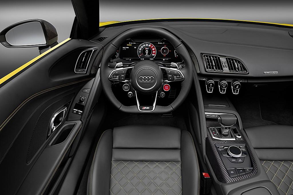 Audi R8 Spyder V10 Cruscotto