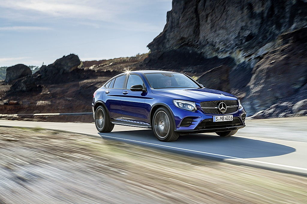Mercedes GLC Coupe Tre Quarti Dinamica