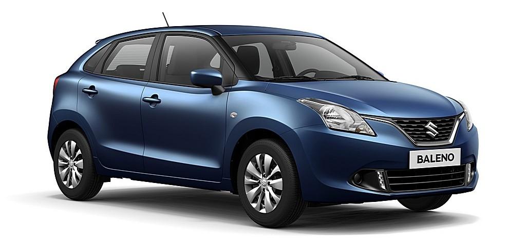 Suzuki Baleno Nuova Blue