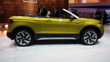 Volkswagen T-Cross Breeze Concept LIVE GIMS 2016 Lato