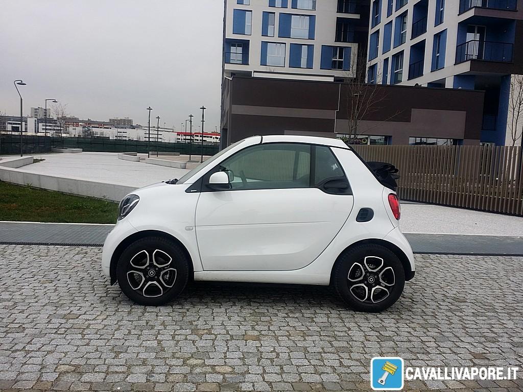 smart nuova cabrio Lato Sinistro