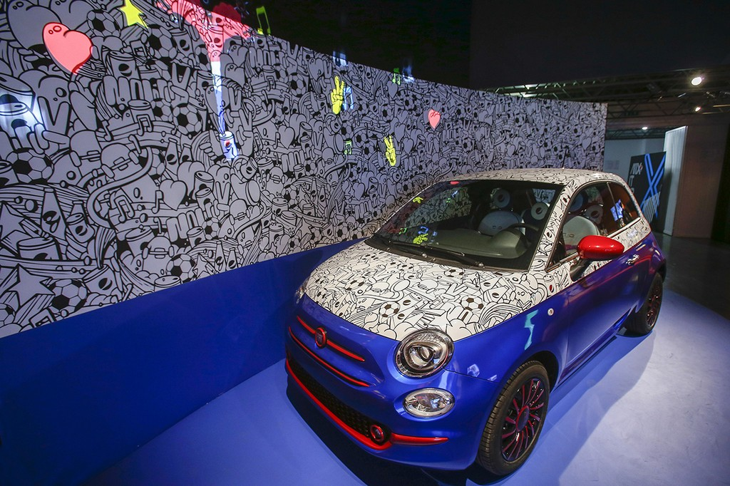 Fiat 500 Pepsi Live for Now Garage Italia Customs