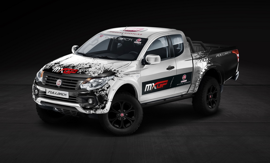 Fiat Fullback MXGP 2016 Garage Italia Customs