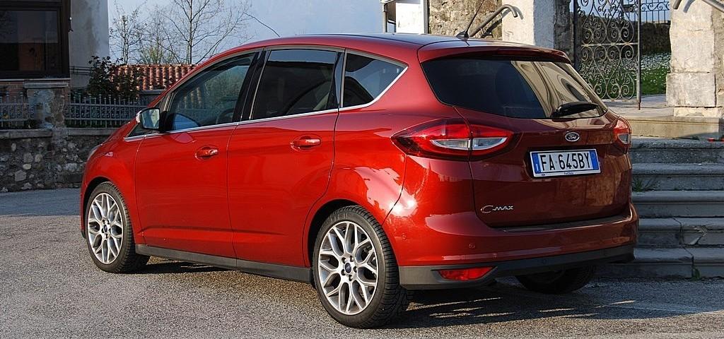 Ford C-Max Tre Quarti Posteriore
