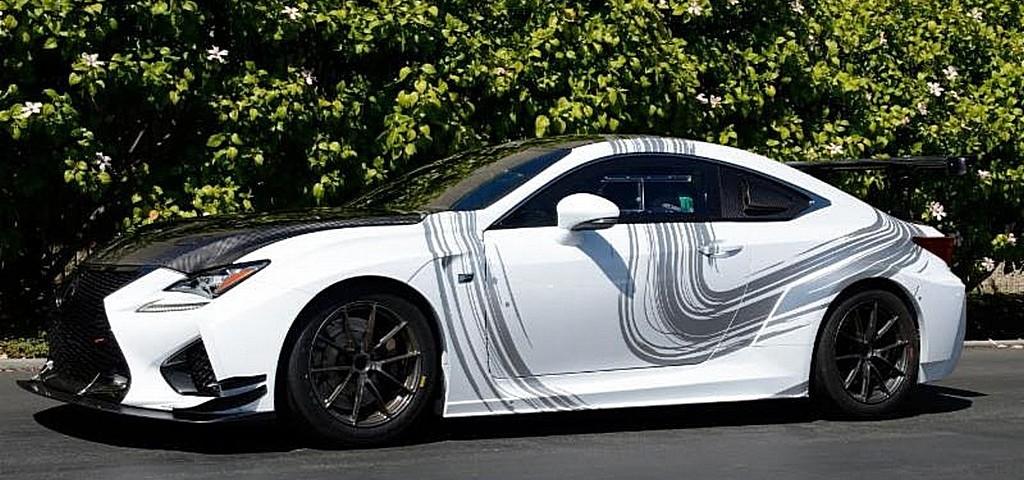 Lexus RC F GT Concept Strada