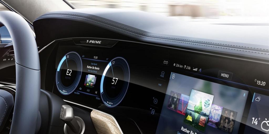 Volkswagen T-Prime Concept GTE Interni